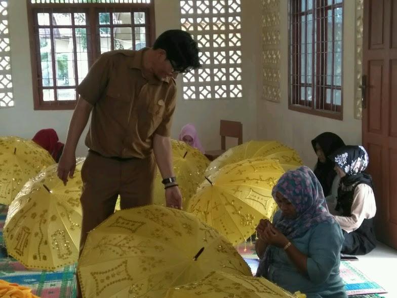 Pelatihan Menjahit Bordir di Balai Latihan Kerja Kota Banda Aceh
