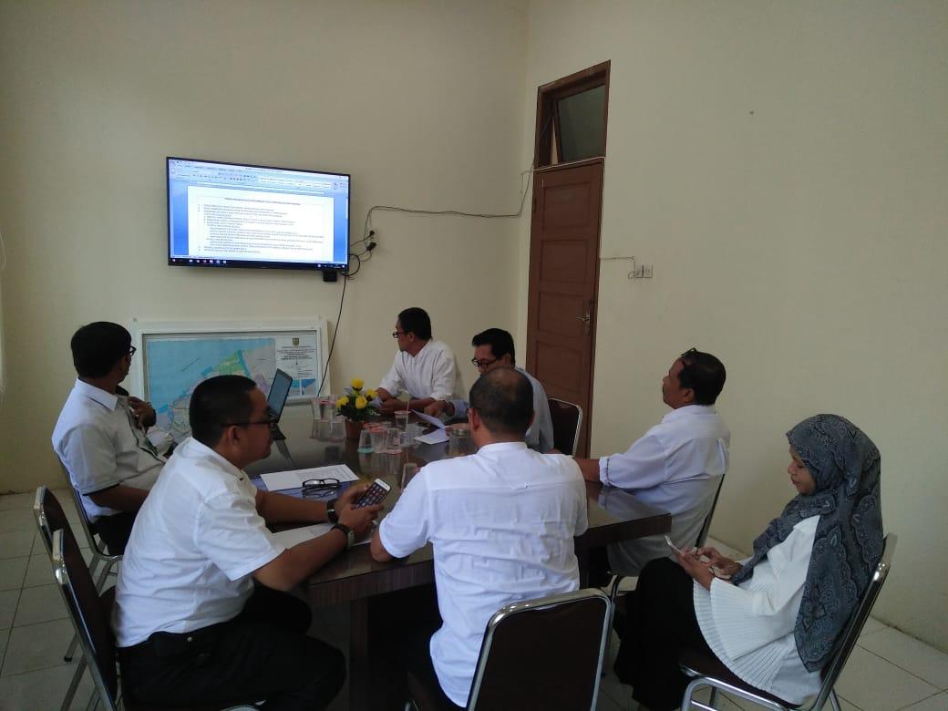Rapat tim teknis pelaksanaan pengambilan data perusahaan dan pekerja Disnaker