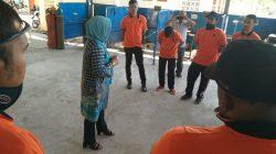 Kunjungan Tim Evaluasi Dari UPTP BLK Banda Aceh di UPTD BLK Banda Aceh