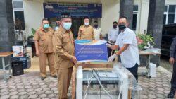 Penyerahan Bantuan Oleh Wakil Walikota Banda Aceh