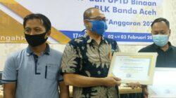 UPTD BLK Kota Banda Aceh Mendapatkan Penghargaan dari KEMNAKER RI