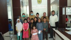 Dinas Tenaga Kerja Kota Banda Aceh Menyantuni Anak Yatim Dimomen Hut Banda Aceh